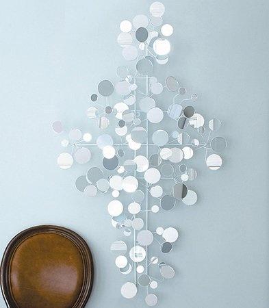 circled mirror decor - Mirrored Wall Decor