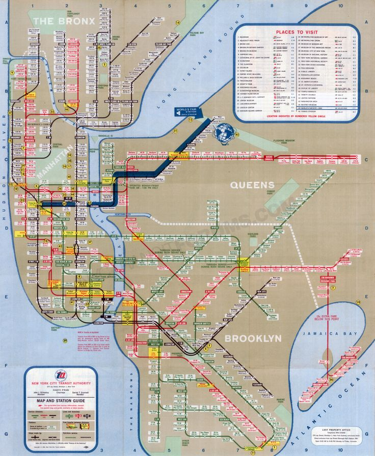 11 best images about New York City Subway Maps on Pinterest Subway map The