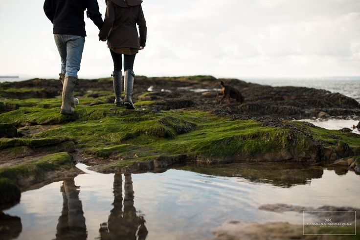Gullane Beach with Katherine and Harry – Save The Date