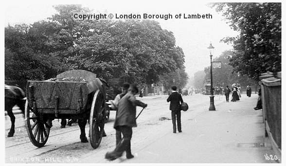 Street Cleaners, Brixton Hill 1908