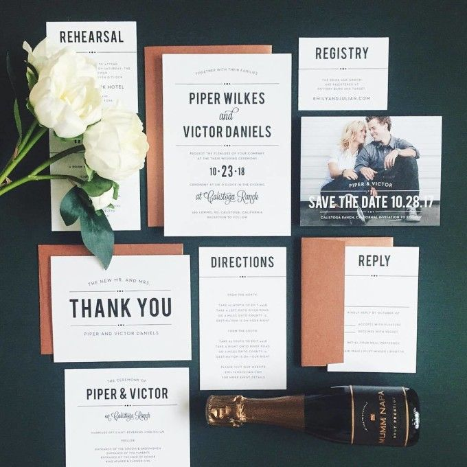 827 best wedding invitations images on pinterest wedding