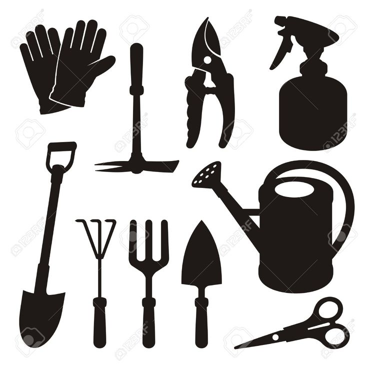 Best 25 garden clipart ideas on pinterest clipart for Gardening tools cartoon
