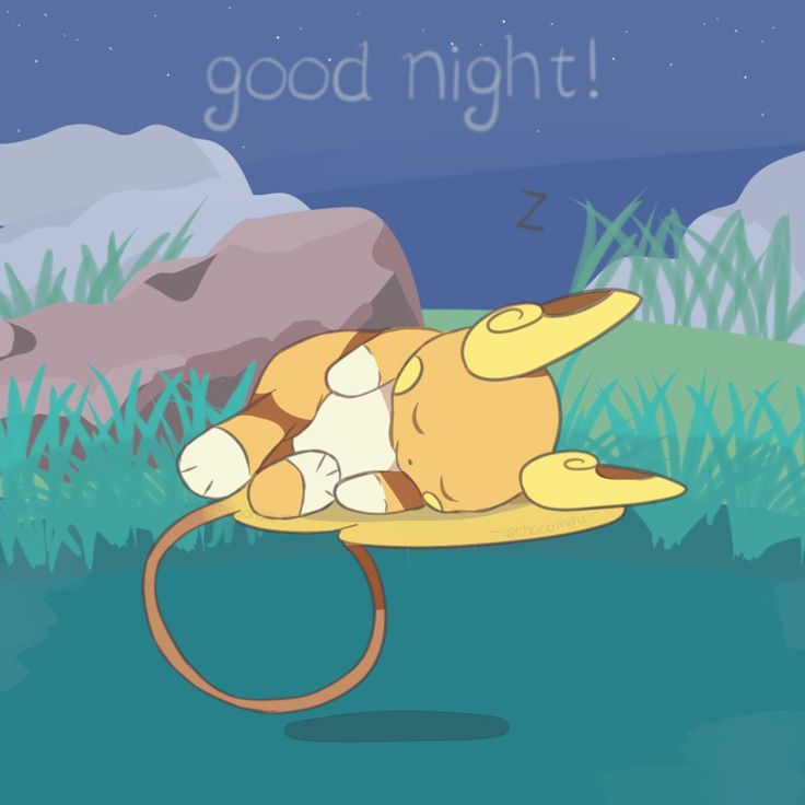 Pokemon Sun and Moon - Sleeping Raichu by chocomiru02.deviantart.com on @DeviantArt