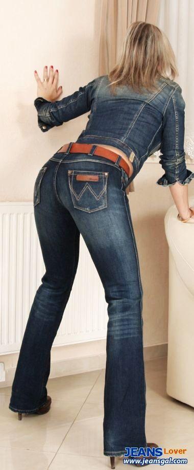 super tight jeans low rise waist hot blonde sexy women plump butt charming breast beautiful asian girls 3375 jpg