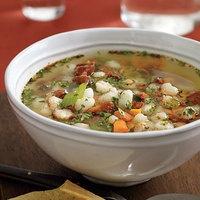 Gotta try this Chorizo-and-Hominy Soup | http://www.rachaelraymag.com/Recipes/rachael-ray-magazine-recipe-search/budget-recipes/chorizo-and-hominy-soup