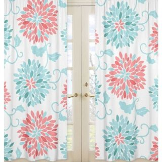 1000 Ideas About Coral Curtains On Pinterest Peach