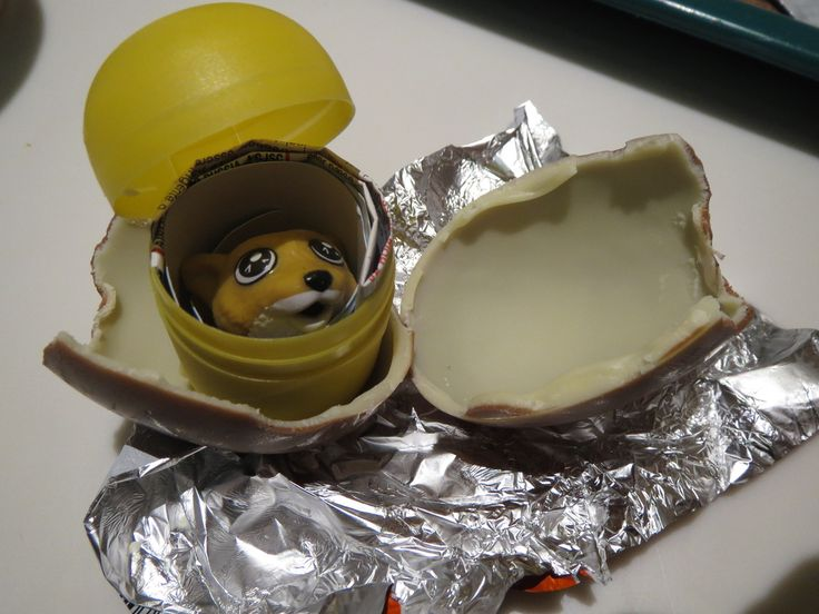 """Kinder Surprise Eggs ~ wasn't really """"invented"""" in Canada, but you won't find it in the United States because it's banned there."""