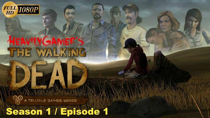 The Walking Dead Telltale Game Series Season 1 (PC) Gameplay Walkthrough...