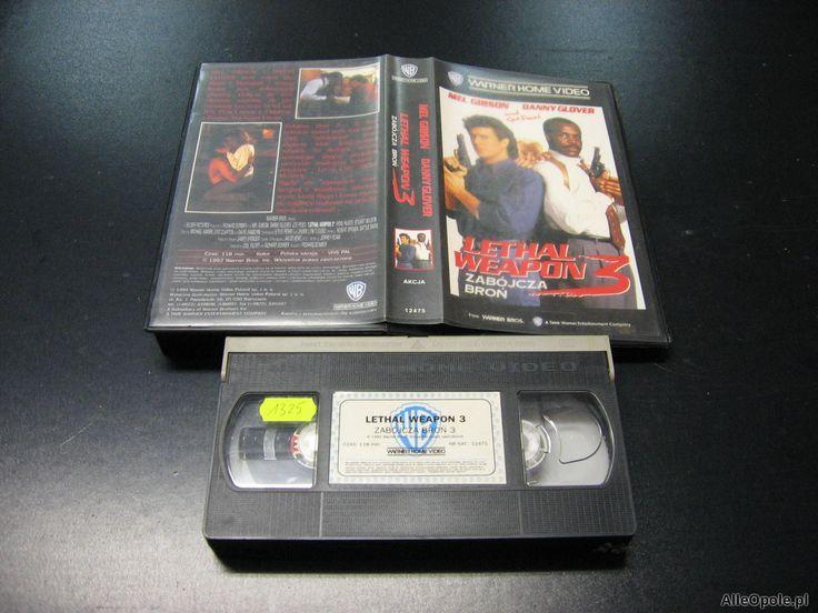 ZABÓJCZA BROŃ 3 - kaseta VHS - 1023 Opole - AlleOpole.pl (Opole)