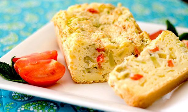 Gluten-Free Vegetarian Cake Sale Savory Cake) Recipe - Food.com