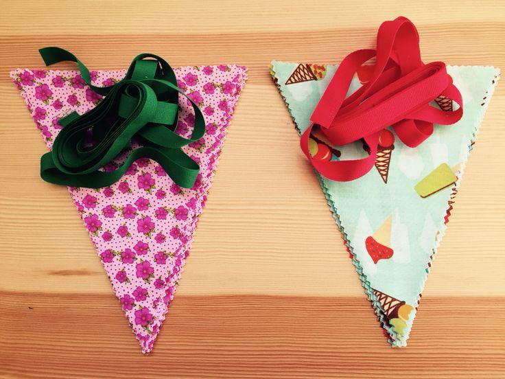Banderines tela!. Made in Rajani Shop. Venta online en Facebook Rajani Shop