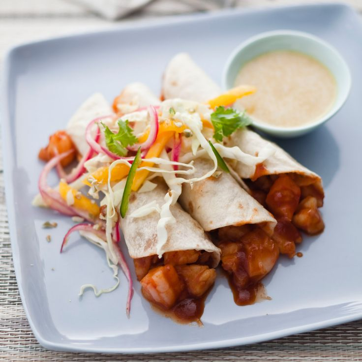 After chef Dean Fearing made these spicy shrimp tacos with pickled onions for the BubbleQ, he served them at his Dallas restaurant, Fearing's. They ar...