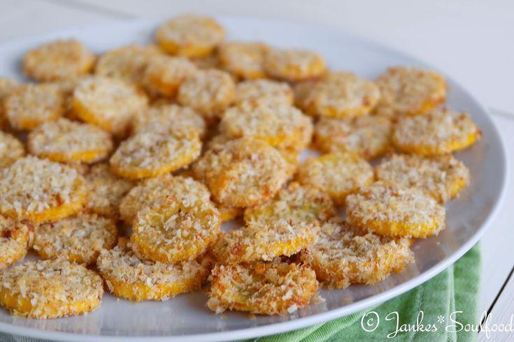 Zucchini-Taler mit Parmesan von Jankes Soulfood
