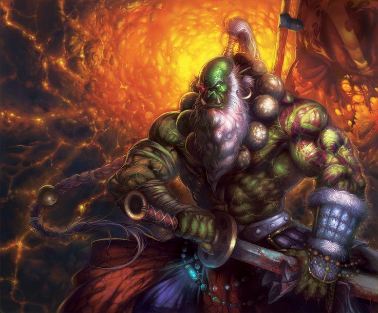 361 best orc hafl-orc images on Pinterest | Character design ...