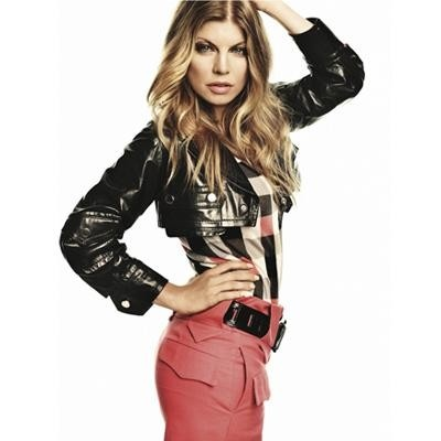 Fergie whittles her waistline by jumping rope. She wears a double sports bra for her voluptuous figure: http://www.examiner.com/article/fabulous-and-fit-fergie-dishes-with-rachael-ray-on-pregnancy-bump-rumors