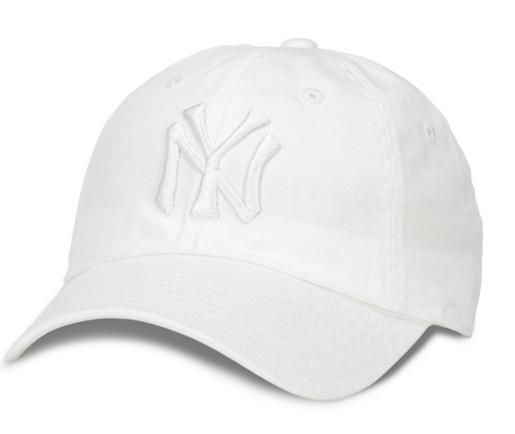 BALLPARK TONAL NY YANKEES WHITE DAD HAT