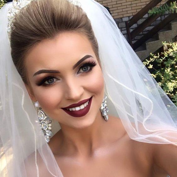 27 Wedding Makeup Ideas For Stylish Brides Page 17 Of 27 Vimdecor
