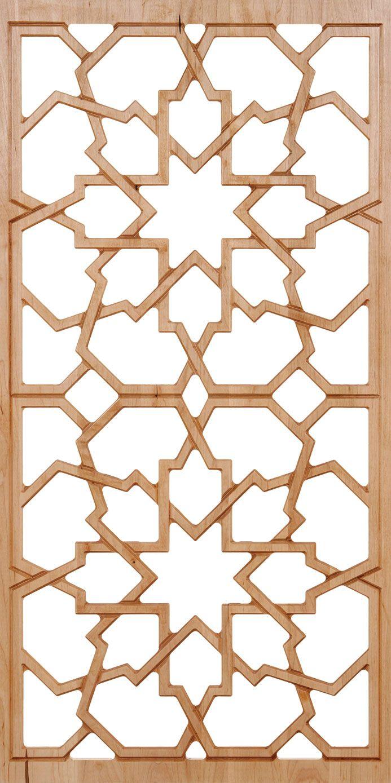 Moorish carved wood