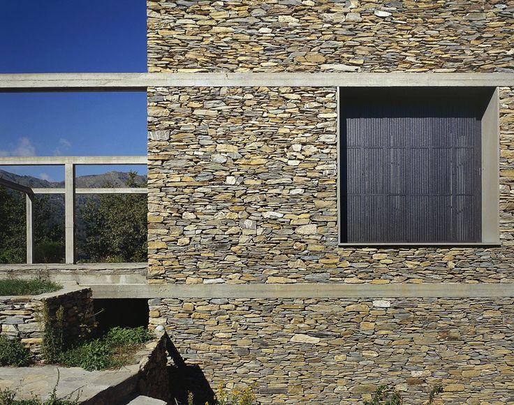 Herzog Amp De Meuron Stone House Tavole 1988 Arq
