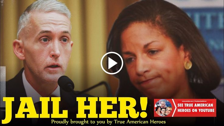 Trey Gowdy Shocks The Room After Destroying Susan Rice!