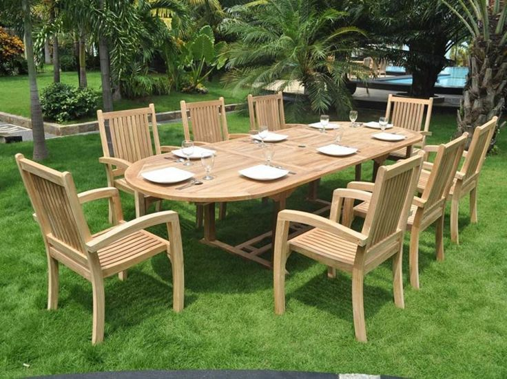 Teak Garden Table And Bench Set   Adults Say That When They Get Together At  These Counter Table The Closeness Of Family And