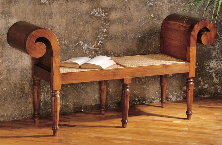 West Indies Style Bench British Colonial Home Pinterest Indie Style West Indies Style And