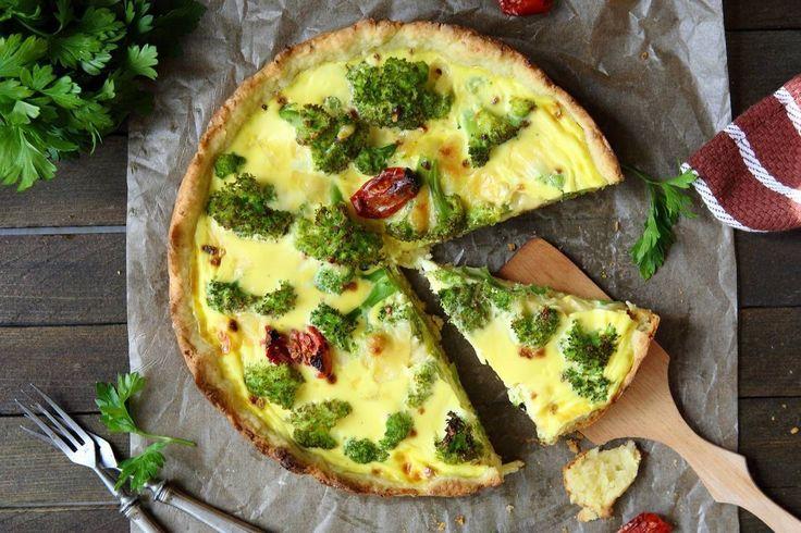 quiche de brocoli - Solo Recetas, el blog de las recetas gratis, recetas de cocina, recetas de la abuela y recetas de chef