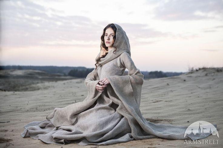 "Fantasy Linen ""Wanderer"" Dress Robe by ArmStreet for Rhaena Nighteyes"