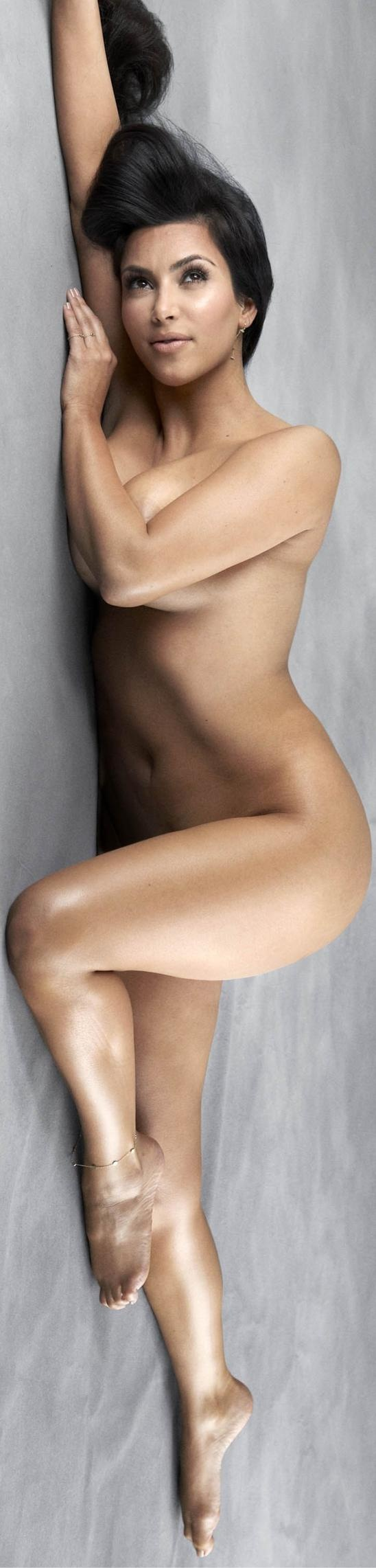 Kim Kardashian ( Do not care at all about the individual but this is a great pose) Beautiful work