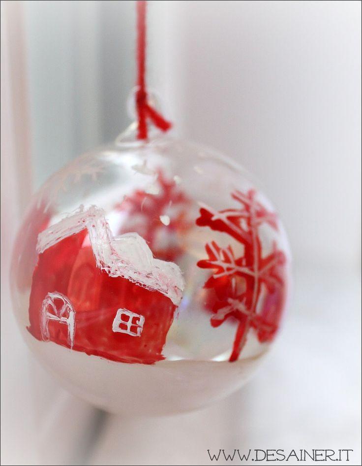Palline di Natale in vetro - Fai da Te