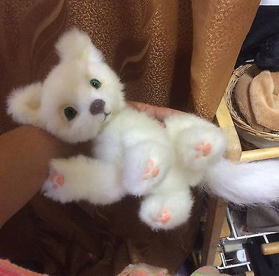One-of-a-kind-handmade-kitten-Very-beautiful-white-cat-Author-toy-Natalia-K