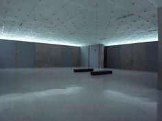 ブレゲンツ美術館/ピーター・ズントー/2007/天空光/ガラス天井