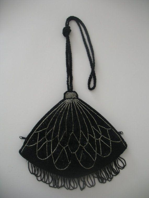 Flapper Style Art Deco Evening Bag