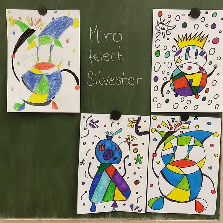 wir malen wie miro 🖌 ein schnelles kunstprojekt nach den