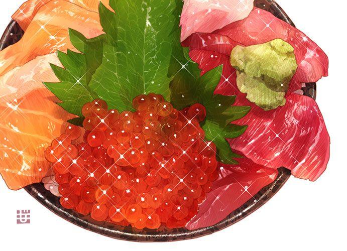 Momiji magyo もみじ真魚's イクラとサーモン、鯛とマグロの4色海鮮丼
