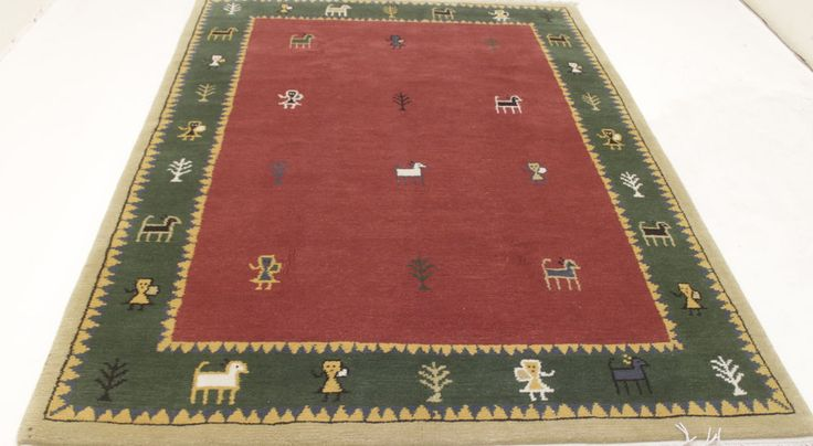 Nepal Teppich 100% Wolle  Handgeknüpft 240 x 170 cm Rugs orient preproga