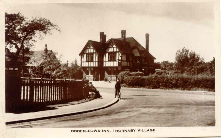 Oddfellows Inn, Thornaby  Still looks much the same, though now extended.