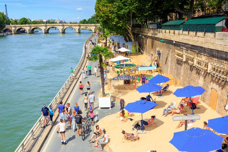 Paris Plages - Pawel Libera/LightRocket/Getty Images