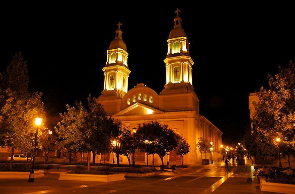 Catedral nocturna - Rancagua - O´Higgins - Chile #places