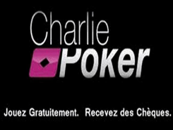 Charlie Poker  Le premier site de poker entièrement gratuit vous donnant des gains d'argent réel. Le premier site de poker où vous jouez aux tournois quand vous voulez