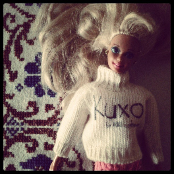 Barbie and Kuxo' www.kuxo.it