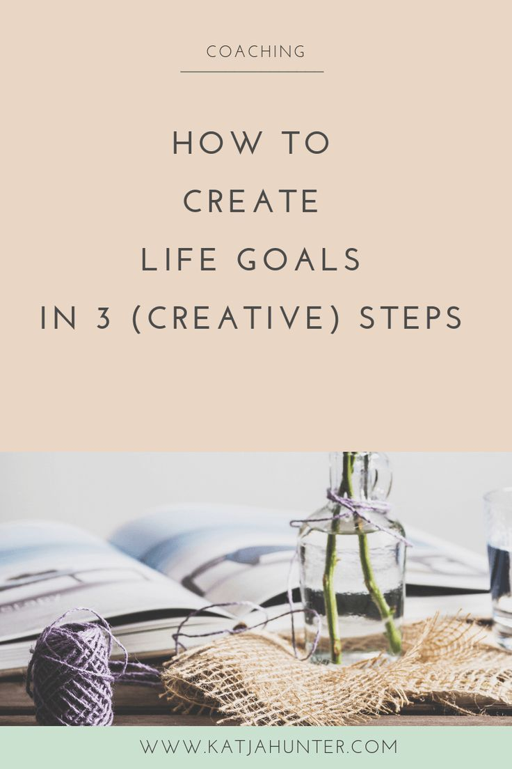 Learn how to create life goals in 3 steps. Many of us don't take the time to rea…