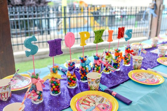 Shopkins Photo Props Shopkins Party by atozebracelebrations