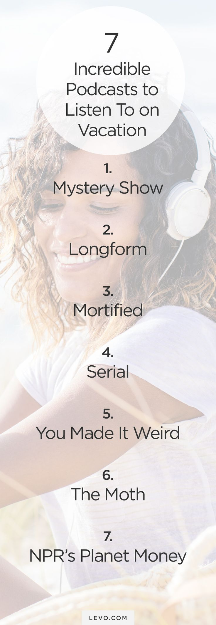 #Podcasts we're falling in love with. Perfect for your next vacation or relaxing weekend. - levo.com