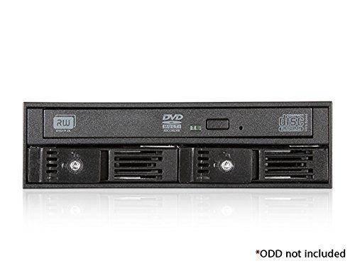 Amazon.com: iStarUSA T-5K225T-SA 5.25-Inch to Slim ODD and 2x 2.5-Inch SATA 6Gbps Trayless Hot-Swap Cage: Computers & Accessories