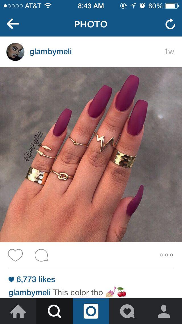 Lusty nails. #glambyMeli