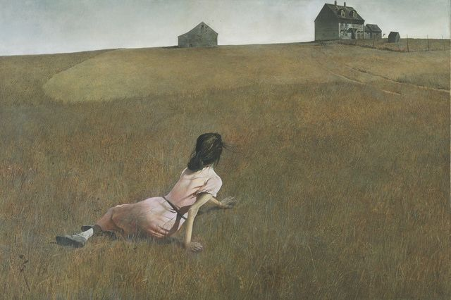 A biographical profile of Andrew Wyeth, American painter.