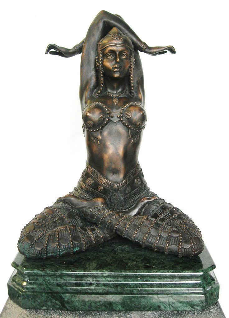 The Goddess Bronze Statue