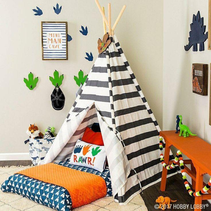 Dinosaur Themed Room For Any Kid Who Loves Prehistoric Adventures Like Our Girl Toddler Boy Room Themes Boy Room Themes Boys Dinosaur Bedroom