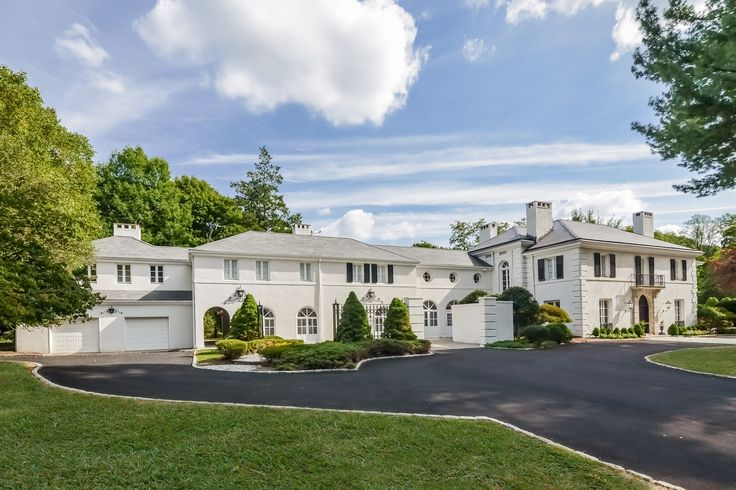 A Luxurious Lifestyle Awaits You in This One Of A Kind Elegant French Chateau Estate Located in The Premier Gated Enclave Of Llewelyn Park-Just 14 Miles From NYC.